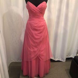 David's Bridal A line gown